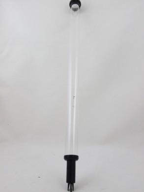 Skaidri testavimo kolba su pipete