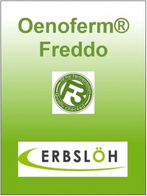 Sausos vyno mielės Freddo F3 Erbslöh