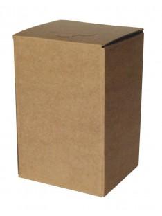 BAG in BOX ruda kartoninė pakuotė
