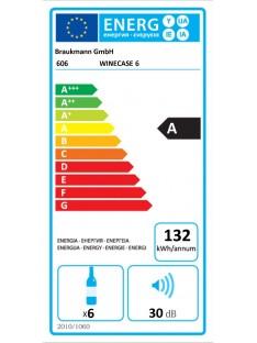 WineCase 6, vyno šaldytuvas