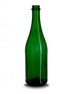 Stiklinis šampano butelis 750 ml
