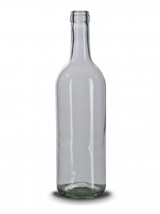 Stiklinis vyno butelis Bordeaux 750 ml