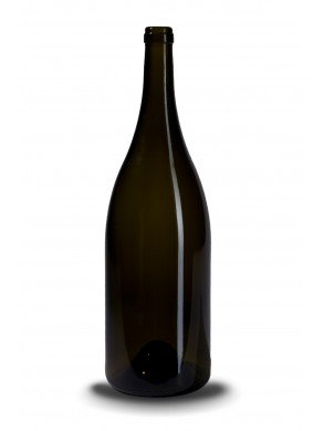 Stiklinis vyno butelis Burgunder 1.5 l, 1100g.