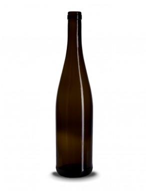 Stiklinis vyno butelis (schlegel) 750ml, 480g, rudas