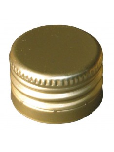 Užsukamas metalinis kamštelis su sriegiu PP28
