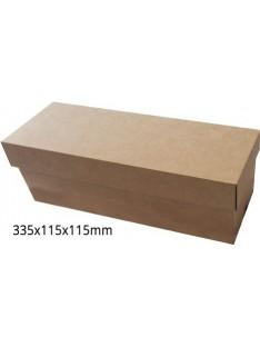 Horizontali butelio dėžutė su įdėklu