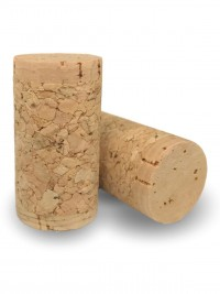 Natūralus vyno kamštis Twin-Top