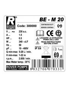 Siurblys Rover BE M 20mm