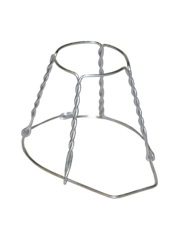 Laikiklis iš vielos su metaliniu dangtelius