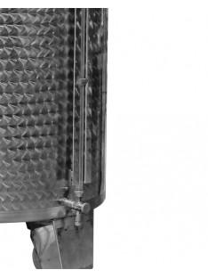 Lygio matuoklis su nerūdijančio plieno apsauga