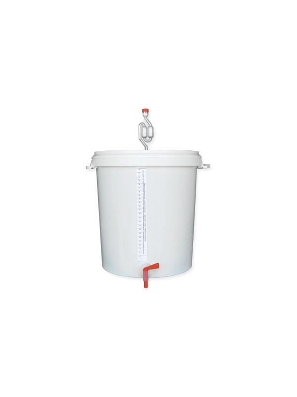 Vyno fermentacijos kibiras 30 ltr.
