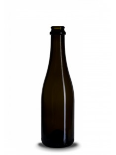 Stiklinis šampano butelis