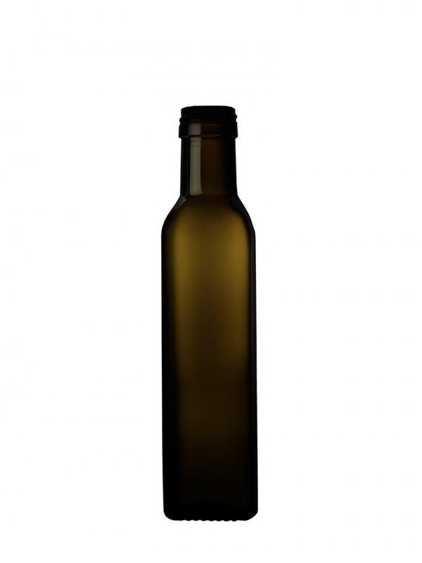 Stiklinis butelis Olivolio, 0,25l.