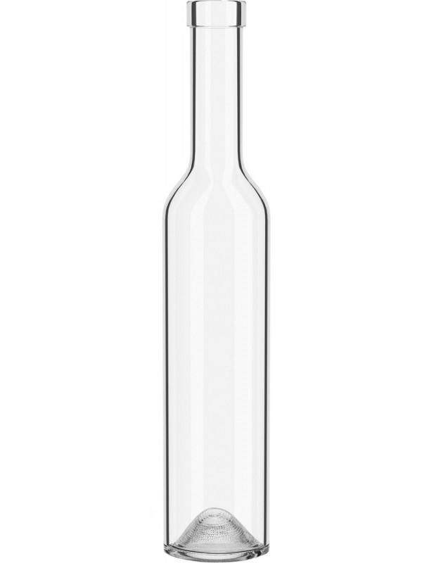 Stiklinis butelis vynui 500 ml Skaidrus