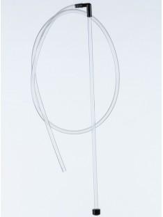 Perpylimo sifonas 45cm vamzdelis, 110cm žarnelė