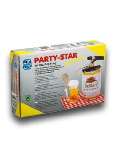 Statinės kranelis alaus statinei Party-star su CO2 reguliatorium