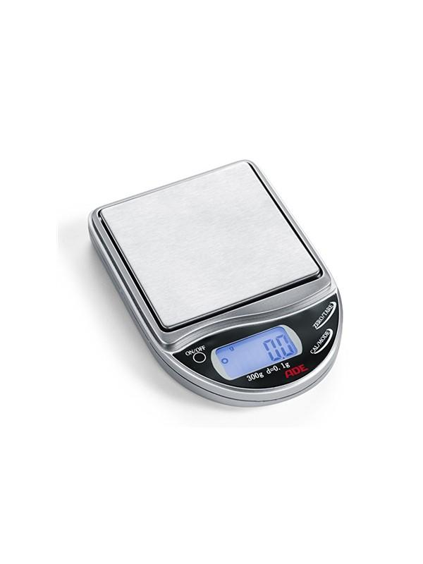Elektroninės Mini svarstyklės iki 300g ADE, sidabrinės