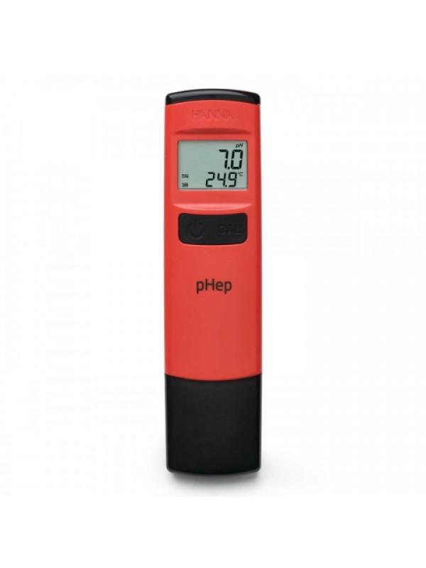 Elektroninis pH ir temperatūros matavimo prietaisas su 0.1 skiriamąja geba