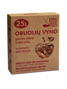 Obuolių vyno gamybos rinkinys iš savo sulčių