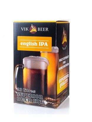 Alaus gamybos rinkinys Vik Beer English IPA 1,7 kg 23 ltr.