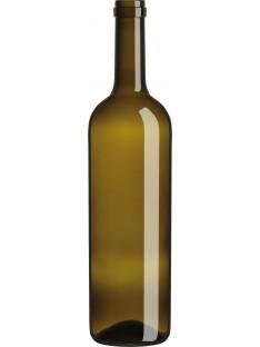 Stiklinis butelis Legera lt 750ml , rudas, 1575 buteliai