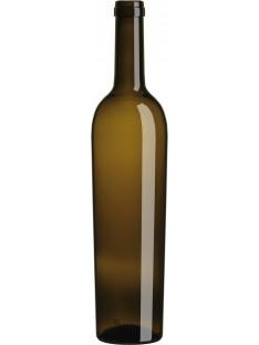 Stiklinis butelis Bordo Golea 750ml , rudas, 1398 buteliai
