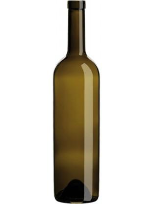 Stiklinis butelis Bordelesa VIP 750ml , rudas, 1350 buteliai