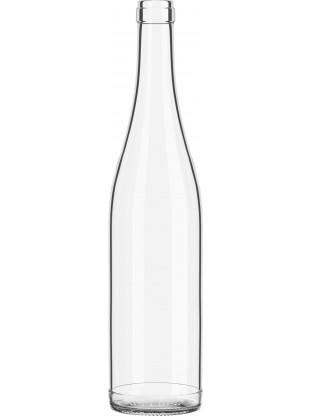 Stiklinis butelis Rein 750ml , skaidrus, 1350 buteliai