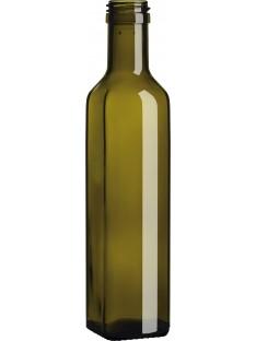 Aliejaus butelis Marasca 250ml , rudas, 3150 buteliai