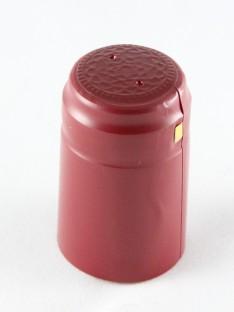 Vyno butelio termo kapsulė 30,5x50mm burgundiškos spalvos