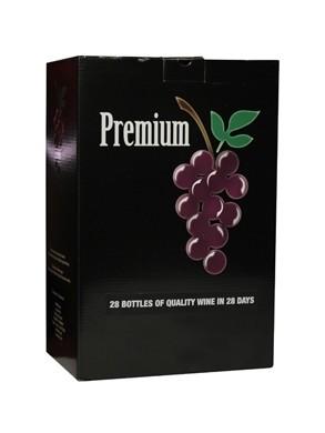 """Rūšinių vynuogių vyno ruošinys """"Premium Merlot"""""""