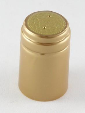 Vyno butelio termo kapsulė (auksinė)