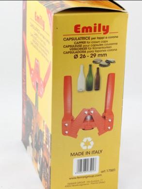 Metalinių kamštelių uždarytuvas EMILY